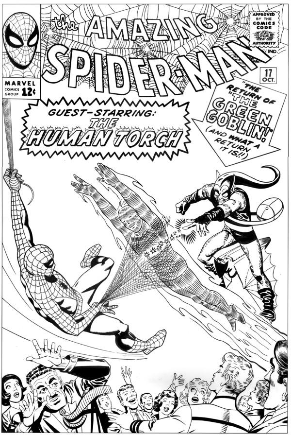 Amazing spider-man 17 ditkocultist ditko recreation