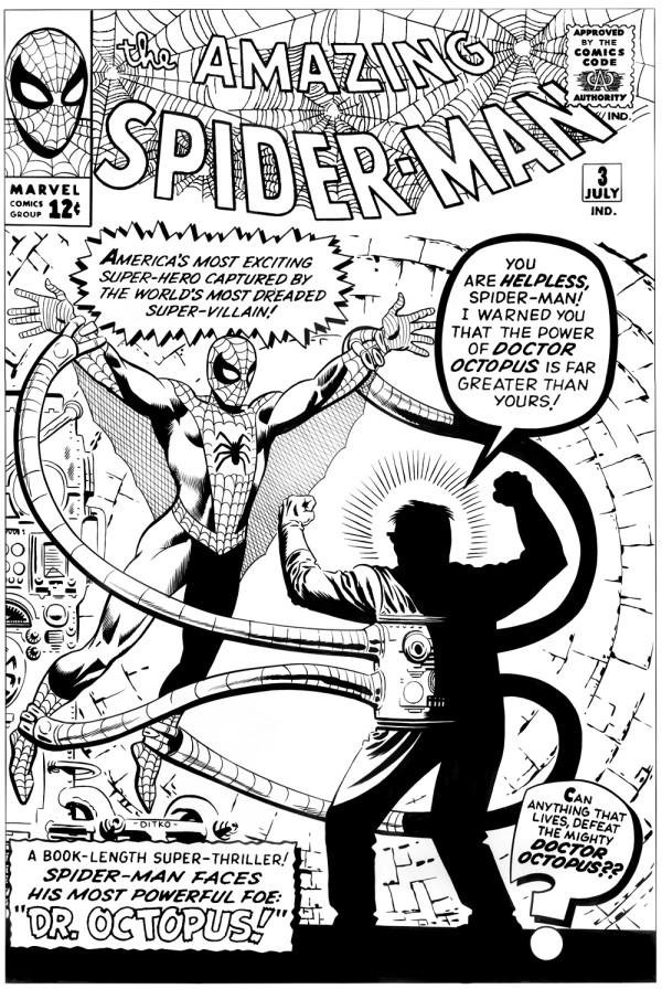 Amazing spider-man 3 ditkocultist ditko recreation