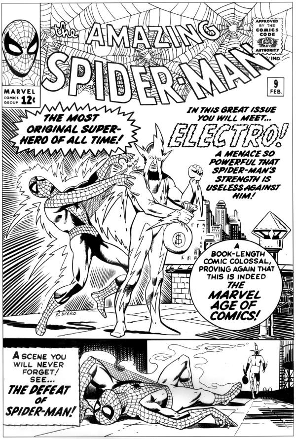 amazing spider-man 9 ditkocultist ditko recreation