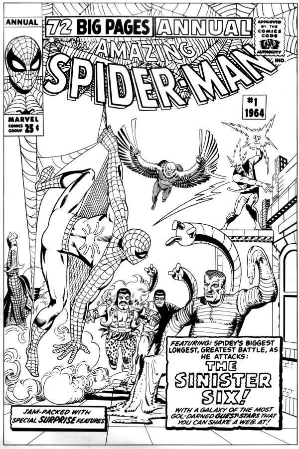 amazing spider-man annual 1 ditkocultist recreation