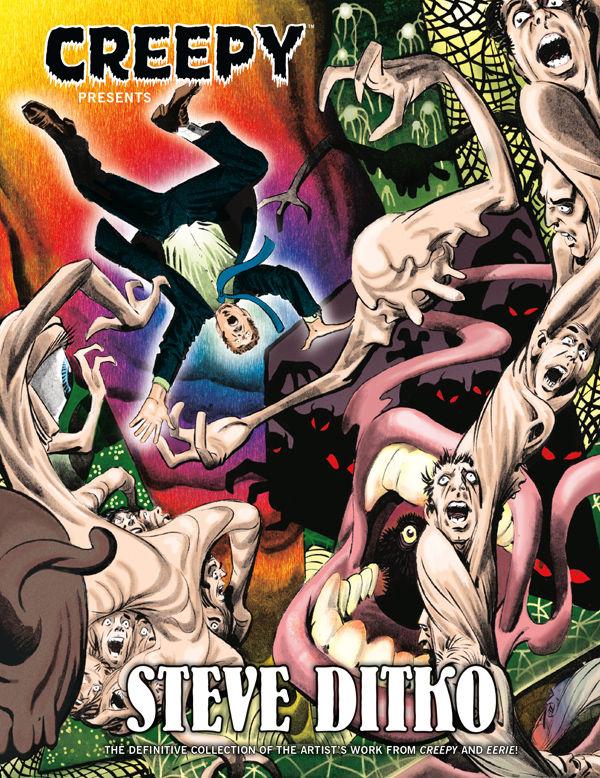 creepy presents steve dikto hardcover eerie creepy