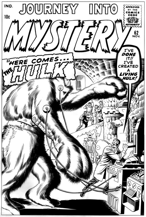 journey into mystery 62 ditkocultist ditko inks recreation