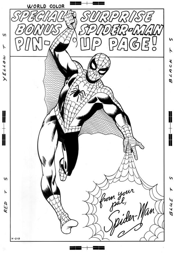 spider-man pin-up 2 ditkocultist ditko recreation