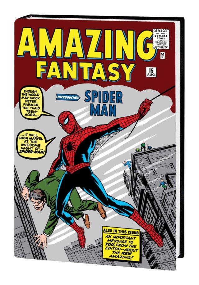 steve ditko amazing spider-man omnibus marvel reissue reprint