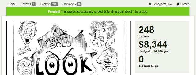 steve ditko kickstarter completed 8344