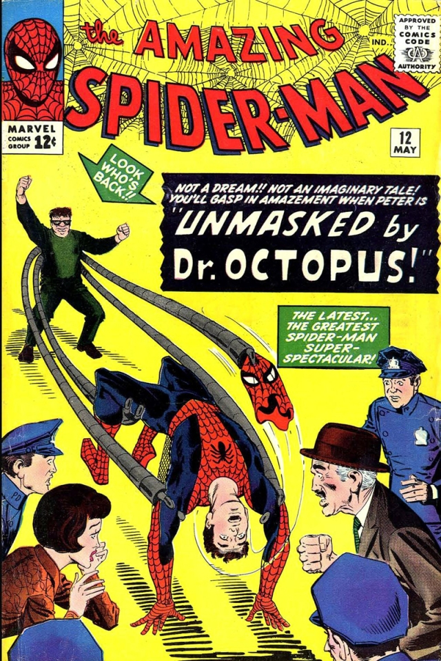 steve ditko asm 12 cover