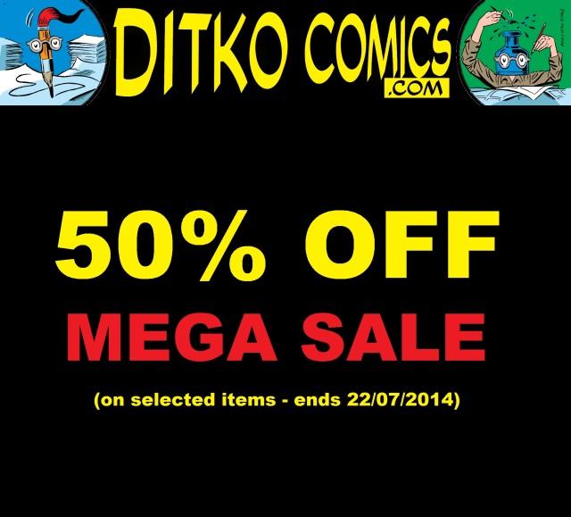 ditkocomics mega sale 50