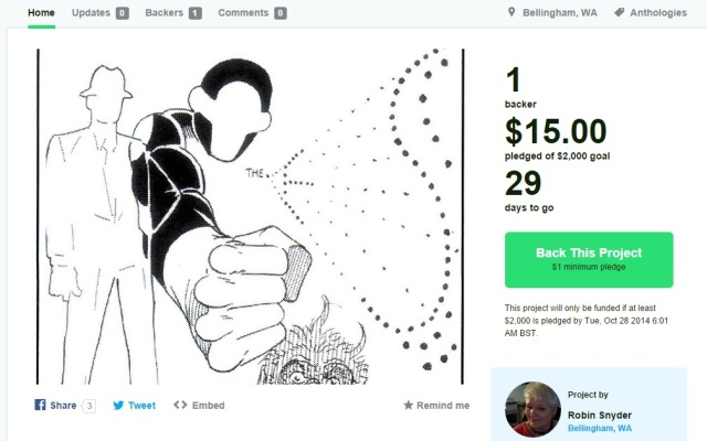 steve ditko robin snyder kickstarter new comic